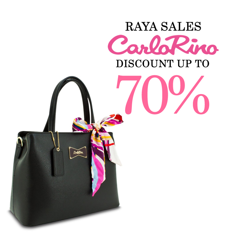 55d458a552f5 Tak raya la kalau takder beg baru kan  Bolehlah beli satu beg Carlo Rino  ni