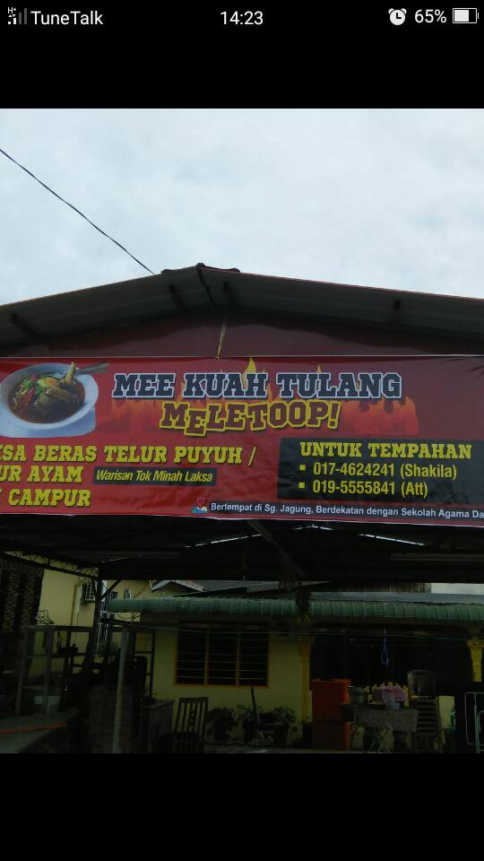 Mee Kuah Tulang Meletoop