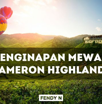 Penginapan Mewah Honeymoon Cameron Highlands